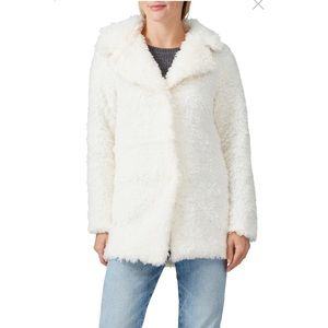 Wish The Label Shearling Faux fur Coat small $398